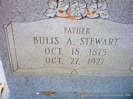 STEWART, BULIS A - St. Helena County, Louisiana   BULIS A STEWART - Louisiana Gravestone Photos