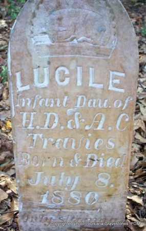TRAVIES, LUCILE - St. Helena County, Louisiana | LUCILE TRAVIES - Louisiana Gravestone Photos