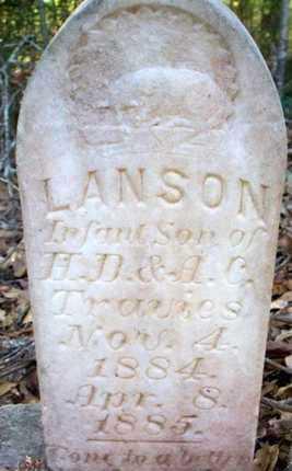 TRAVIES, LANSON - St. Helena County, Louisiana | LANSON TRAVIES - Louisiana Gravestone Photos