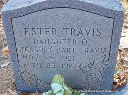 TRAVIS, ESTER - St. Helena County, Louisiana | ESTER TRAVIS - Louisiana Gravestone Photos