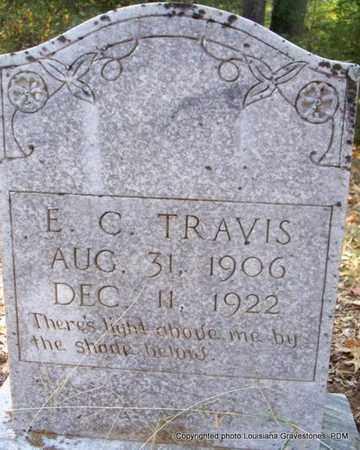 TRAVIS, E C - St. Helena County, Louisiana | E C TRAVIS - Louisiana Gravestone Photos