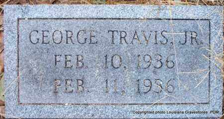 TRAVIS, GEORGE, JR - St. Helena County, Louisiana | GEORGE, JR TRAVIS - Louisiana Gravestone Photos