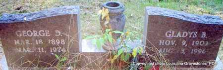 TRAVIS, GLADYS B - St. Helena County, Louisiana | GLADYS B TRAVIS - Louisiana Gravestone Photos
