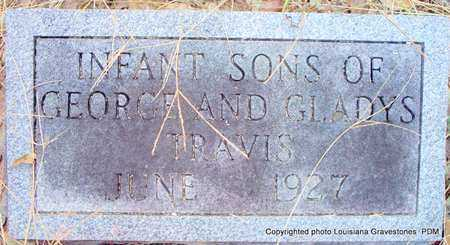 TRAVIS, INFANT SONS - St. Helena County, Louisiana | INFANT SONS TRAVIS - Louisiana Gravestone Photos