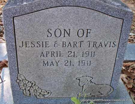 TRAVIS, INFANT SON - St. Helena County, Louisiana | INFANT SON TRAVIS - Louisiana Gravestone Photos