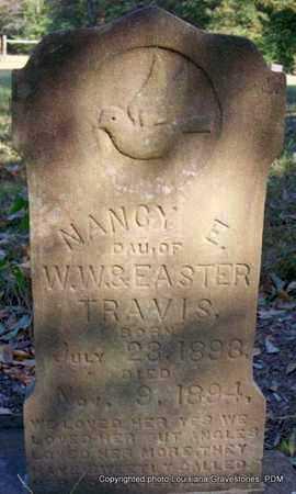 TRAVIS, NANCY E - St. Helena County, Louisiana | NANCY E TRAVIS - Louisiana Gravestone Photos