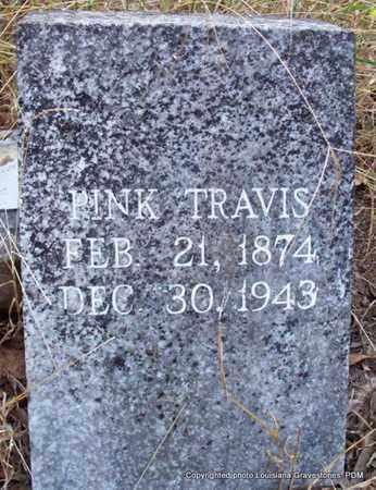 TRAVIS, PINK - St. Helena County, Louisiana   PINK TRAVIS - Louisiana Gravestone Photos