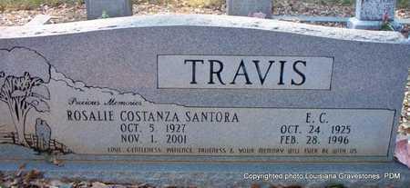 SANTORA TRAVIS, ROSALIE COSTANZA - St. Helena County, Louisiana | ROSALIE COSTANZA SANTORA TRAVIS - Louisiana Gravestone Photos