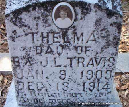 TRAVIS, THELMA - St. Helena County, Louisiana   THELMA TRAVIS - Louisiana Gravestone Photos
