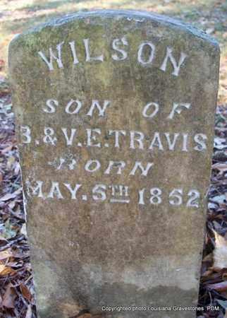 TRAVIS, WILSON - St. Helena County, Louisiana | WILSON TRAVIS - Louisiana Gravestone Photos