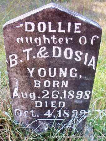 YOUNG, DOLLIE - St. Helena County, Louisiana   DOLLIE YOUNG - Louisiana Gravestone Photos