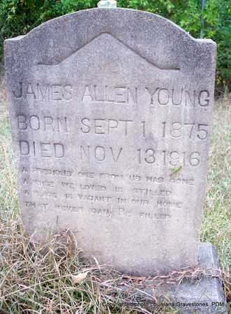 YOUNG, JAMES ALLEN - St. Helena County, Louisiana | JAMES ALLEN YOUNG - Louisiana Gravestone Photos