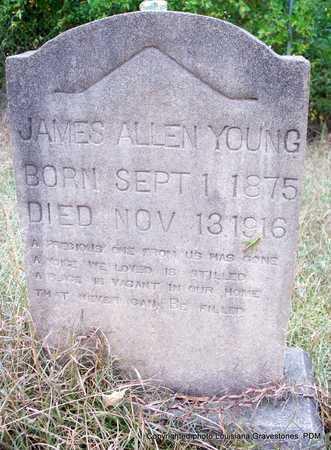 YOUNG, JAMES ALLEN - St. Helena County, Louisiana | JAMES ALLEN YOUNG - Louisiana Gravestone Photos