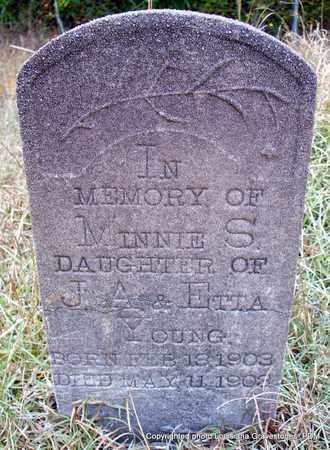 YOUNG, MINNIE S - St. Helena County, Louisiana | MINNIE S YOUNG - Louisiana Gravestone Photos