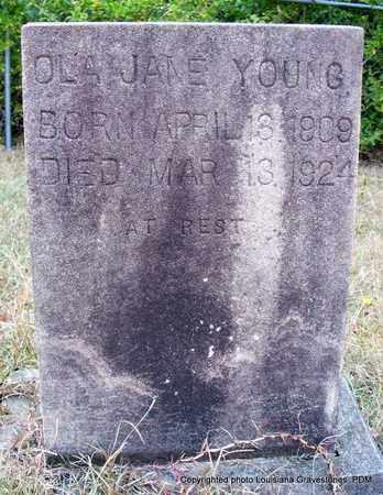 YOUNG, OLA JANE - St. Helena County, Louisiana   OLA JANE YOUNG - Louisiana Gravestone Photos