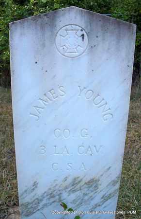 YOUNG, JAMES (VETERAN CSA) - St. Helena County, Louisiana   JAMES (VETERAN CSA) YOUNG - Louisiana Gravestone Photos