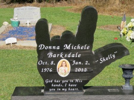 "BARKSDALE, DONNA MICHELE ""SHELLY"" - Tangipahoa County, Louisiana   DONNA MICHELE ""SHELLY"" BARKSDALE - Louisiana Gravestone Photos"