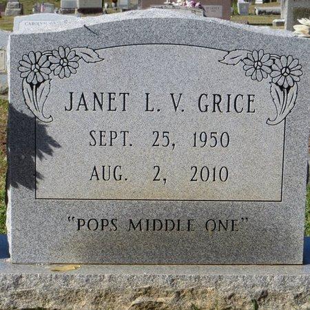VARNADO GRICE, JANET LEE - Tangipahoa County, Louisiana | JANET LEE VARNADO GRICE - Louisiana Gravestone Photos