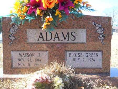 ADAMS, WATSON J - Union County, Louisiana | WATSON J ADAMS - Louisiana Gravestone Photos