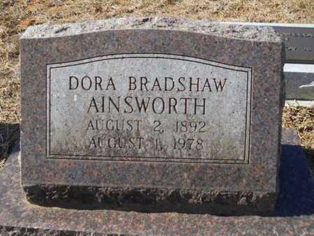 AINSWORTH, DORA - Union County, Louisiana | DORA AINSWORTH - Louisiana Gravestone Photos