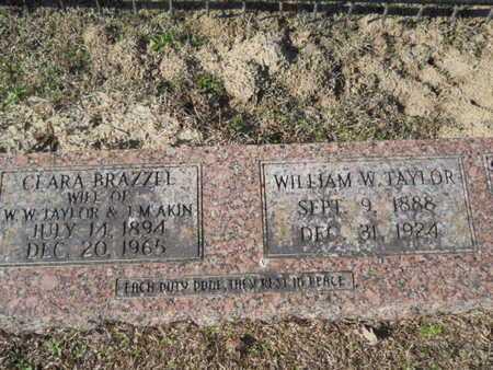 BRAZZEL AKIN, CLARA - Union County, Louisiana | CLARA BRAZZEL AKIN - Louisiana Gravestone Photos