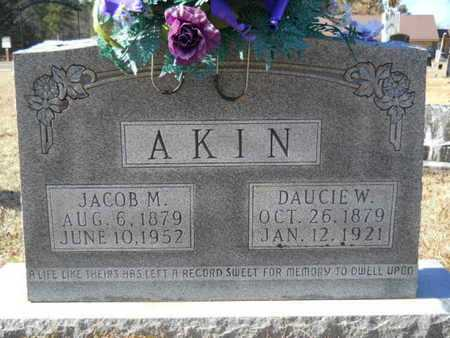 AKIN, DAUCIE W - Union County, Louisiana | DAUCIE W AKIN - Louisiana Gravestone Photos