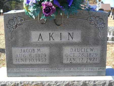 AKIN, JACOB M - Union County, Louisiana | JACOB M AKIN - Louisiana Gravestone Photos