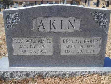 BAKER AKIN, BEULAH - Union County, Louisiana | BEULAH BAKER AKIN - Louisiana Gravestone Photos