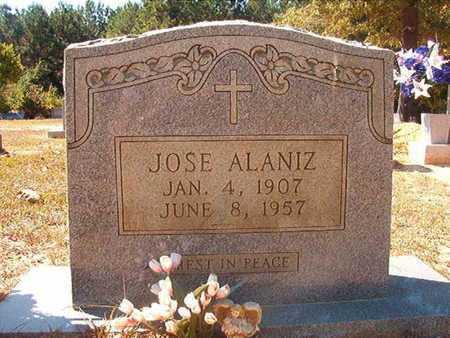 ALANIZ, JOSE - Union County, Louisiana   JOSE ALANIZ - Louisiana Gravestone Photos