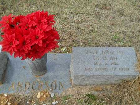 ANDERSON, BESSIE JEWEL - Union County, Louisiana | BESSIE JEWEL ANDERSON - Louisiana Gravestone Photos