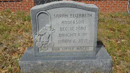 ANDERSON, SARAH ELIZABETH - Union County, Louisiana | SARAH ELIZABETH ANDERSON - Louisiana Gravestone Photos