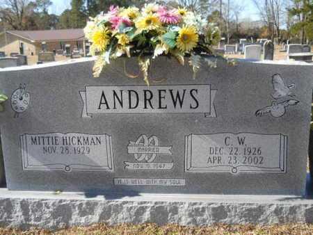 ANDREWS, C W - Union County, Louisiana | C W ANDREWS - Louisiana Gravestone Photos