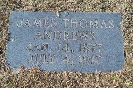 ANDREWS, JAMES THOMAS - Union County, Louisiana   JAMES THOMAS ANDREWS - Louisiana Gravestone Photos