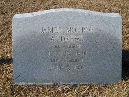 ANDREWS, JAMES MONROE - Union County, Louisiana | JAMES MONROE ANDREWS - Louisiana Gravestone Photos