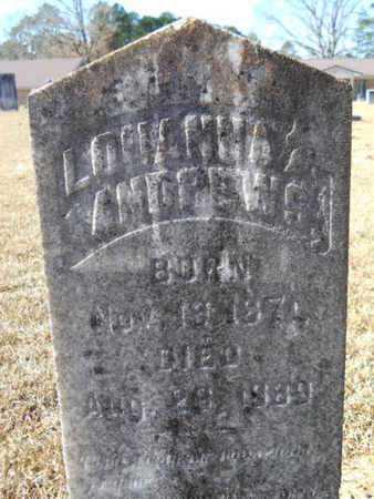 ANDREWS, LOUANNA - Union County, Louisiana | LOUANNA ANDREWS - Louisiana Gravestone Photos