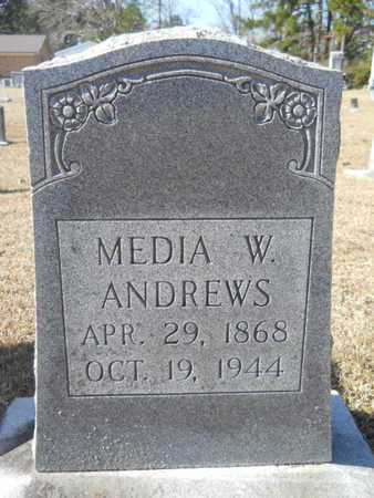 ANDREWS, MEDIA W - Union County, Louisiana | MEDIA W ANDREWS - Louisiana Gravestone Photos