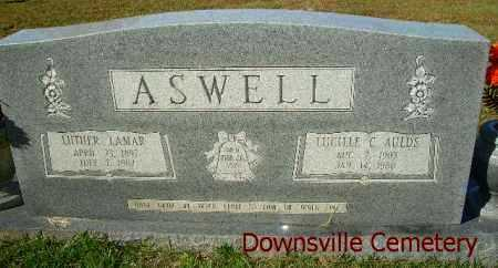 ASWELL, LUCILLE C. - Union County, Louisiana | LUCILLE C. ASWELL - Louisiana Gravestone Photos