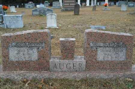 BRANTLEY AUGER, ALLIE - Union County, Louisiana   ALLIE BRANTLEY AUGER - Louisiana Gravestone Photos