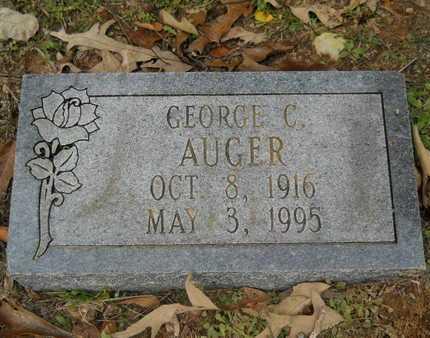 AUGER, GEORGE C - Union County, Louisiana   GEORGE C AUGER - Louisiana Gravestone Photos