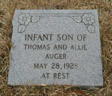 AUGER, INFANT SON - Union County, Louisiana | INFANT SON AUGER - Louisiana Gravestone Photos