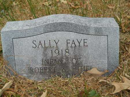 AUGER, SALLY FAYE - Union County, Louisiana | SALLY FAYE AUGER - Louisiana Gravestone Photos