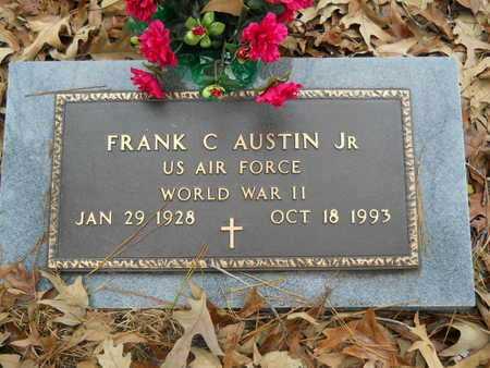 AUSTIN, FRANK C , JR (VETERAN WWII) - Union County, Louisiana | FRANK C , JR (VETERAN WWII) AUSTIN - Louisiana Gravestone Photos