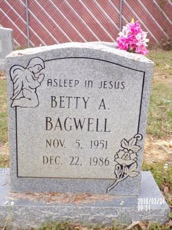 BAGWELL, BETTY A - Union County, Louisiana   BETTY A BAGWELL - Louisiana Gravestone Photos