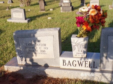 BAGWELL, EARL TAYLOR (OBIT) - Union County, Louisiana | EARL TAYLOR (OBIT) BAGWELL - Louisiana Gravestone Photos