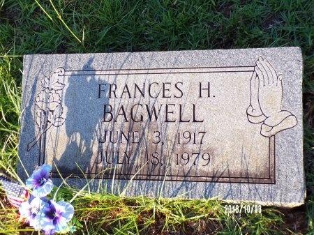 BAGWELL, FRANCES - Union County, Louisiana | FRANCES BAGWELL - Louisiana Gravestone Photos