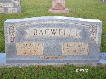 BAGWELL, GOLDMAN THOMAS - Union County, Louisiana | GOLDMAN THOMAS BAGWELL - Louisiana Gravestone Photos