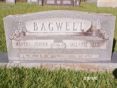 BAGWELL, DELANIE ELLIS - Union County, Louisiana | DELANIE ELLIS BAGWELL - Louisiana Gravestone Photos