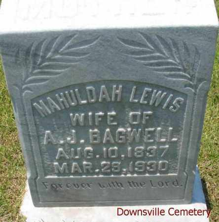 BAGWELL, NARICISSUS MAHULDAH - Union County, Louisiana | NARICISSUS MAHULDAH BAGWELL - Louisiana Gravestone Photos