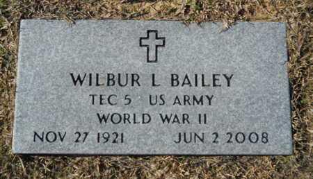 BAILEY, WILBUR L (VETERAN WWII) - Union County, Louisiana | WILBUR L (VETERAN WWII) BAILEY - Louisiana Gravestone Photos