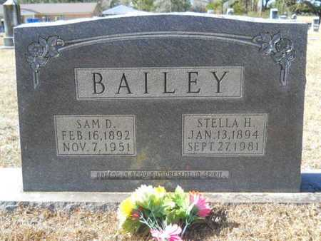 BAILEY, SAM D - Union County, Louisiana | SAM D BAILEY - Louisiana Gravestone Photos